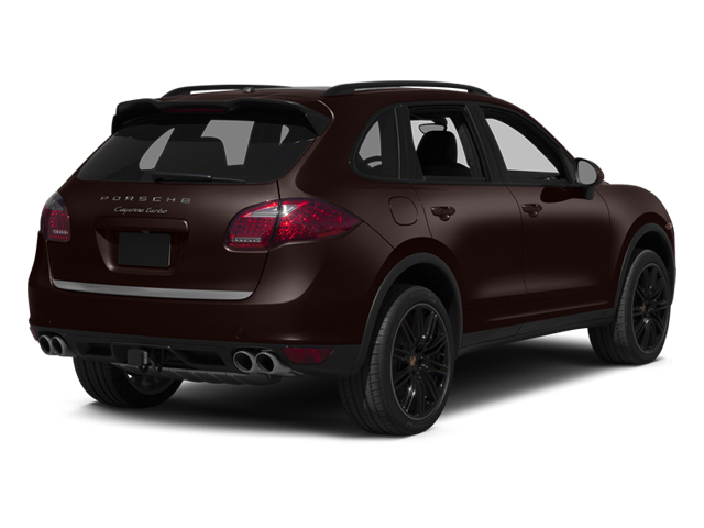 Mahogany Metallic 2014 Porsche Cayenne Pictures Cayenne Utility 4D AWD V8 Turbo photos rear view