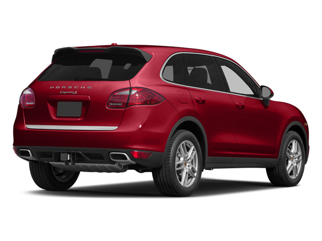 Carmine Red 2014 Porsche Cayenne Pictures Cayenne Utility 4D AWD V6 photos rear view