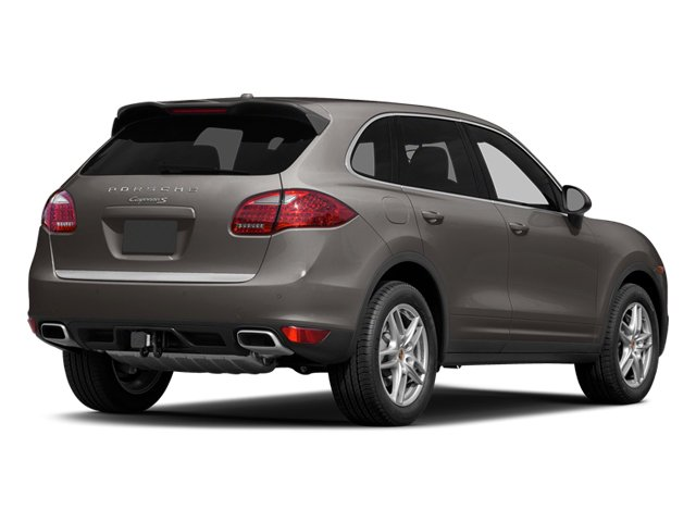 Meteor Gray Metallic 2014 Porsche Cayenne Pictures Cayenne Utility 4D AWD V6 photos rear view
