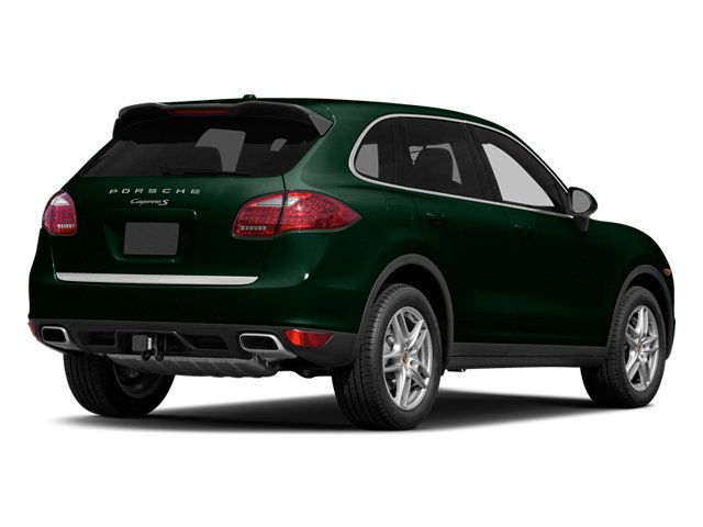 Jet Green Metallic 2014 Porsche Cayenne Pictures Cayenne Utility 4D AWD V6 photos rear view