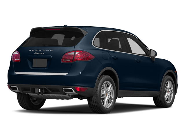 Dark Blue Metallic 2014 Porsche Cayenne Pictures Cayenne Utility 4D AWD V6 photos rear view
