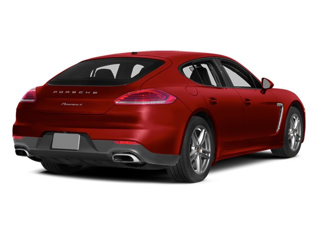 Carmine Red 2014 Porsche Panamera Pictures Panamera Hatchback 4D S AWD V8 Turbo photos rear view