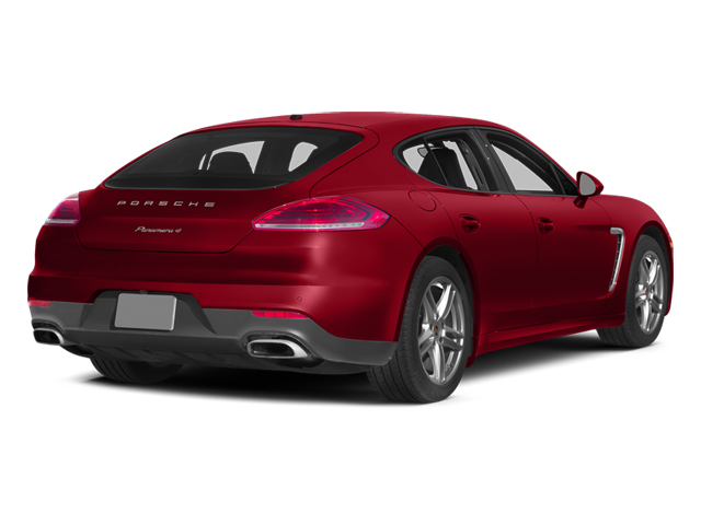 Carmine Red 2014 Porsche Panamera Pictures Panamera Hatchback 4D S V6 Turbo photos rear view