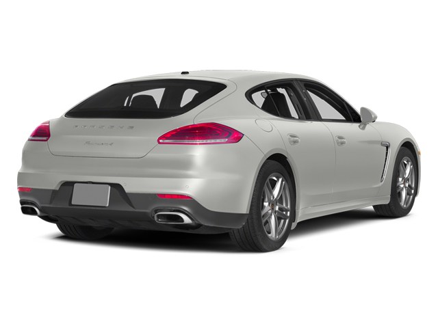 White 2014 Porsche Panamera Pictures Panamera Hatchback 4D S AWD V8 Turbo photos rear view