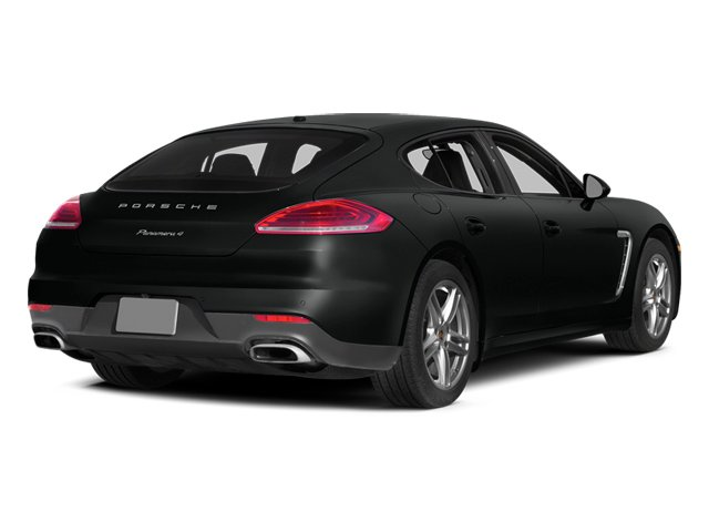 Custom Color Uni 2014 Porsche Panamera Pictures Panamera Hatchback 4D S V6 Turbo photos rear view