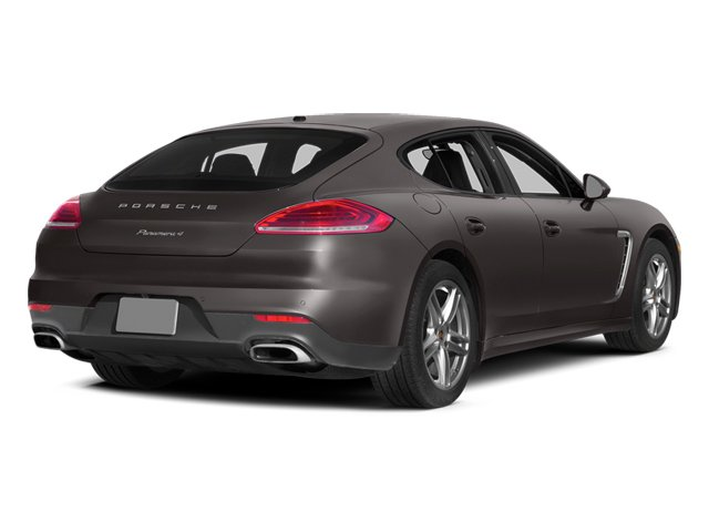 Agate Gray Metallic 2014 Porsche Panamera Pictures Panamera Hatchback 4D 4S V6 Turbo photos rear view
