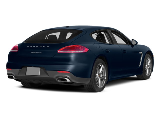 Dark Blue Metallic 2014 Porsche Panamera Pictures Panamera Hatchback 4D S V6 Turbo photos rear view
