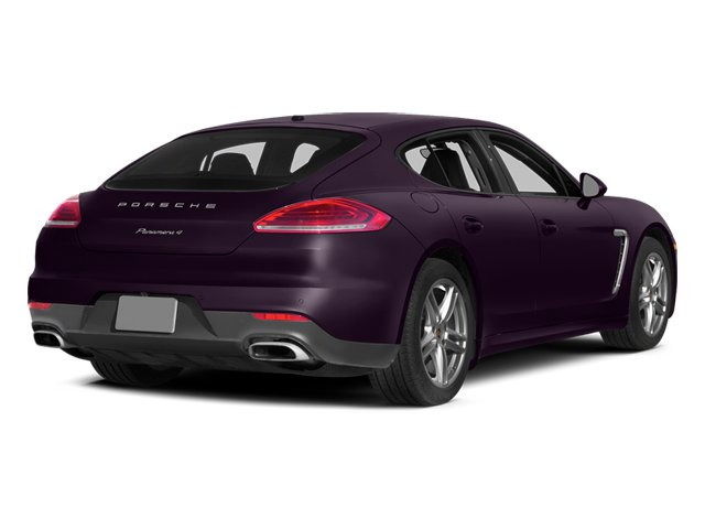 Amethyst Metallic 2014 Porsche Panamera Pictures Panamera Hatchback 4D S AWD V8 Turbo photos rear view
