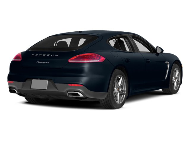 Yachting Blue Metallic 2014 Porsche Panamera Pictures Panamera Hatchback 4D S V6 Turbo photos rear view