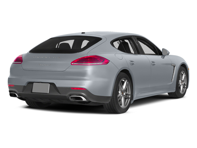 Rhodium Silver Metallic 2014 Porsche Panamera Pictures Panamera Hatchback 4D S V6 Turbo photos rear view
