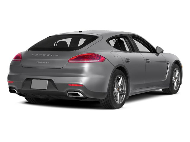 GT Silver Metallic 2014 Porsche Panamera Pictures Panamera Hatchback 4D 4S V6 Turbo photos rear view