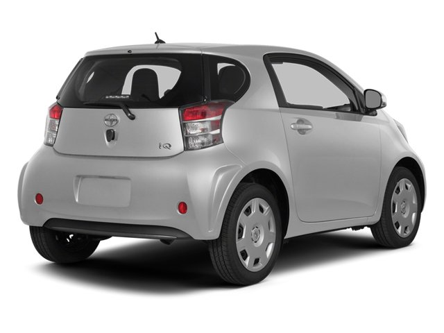 Classic Silver Metallic 2014 Scion iQ Pictures iQ Hatchback 3D I4 photos rear view