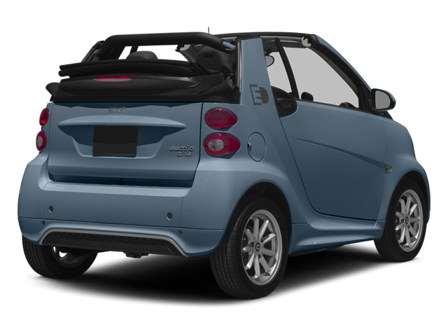 Light Blue Metallic 2014 smart fortwo electric drive Pictures fortwo electric drive Convertible 2D Electric photos rear view