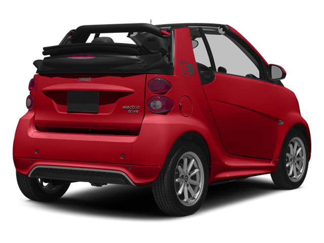 Rally Red 2014 smart fortwo electric drive Pictures fortwo electric drive Convertible 2D Electric photos rear view