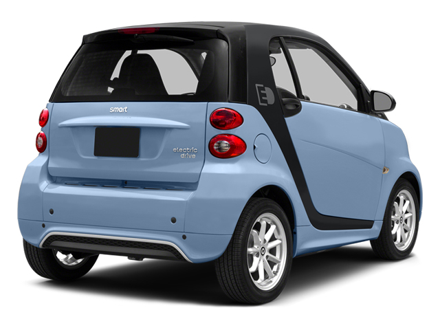 Light Blue Metallic 2014 smart fortwo electric drive Pictures fortwo electric drive Coupe 2D Electric photos rear view