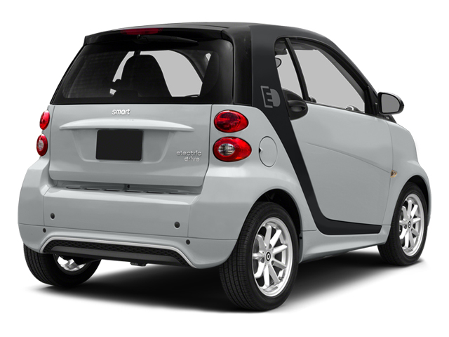 Silver Metallic 2014 smart fortwo electric drive Pictures fortwo electric drive Coupe 2D Electric photos rear view