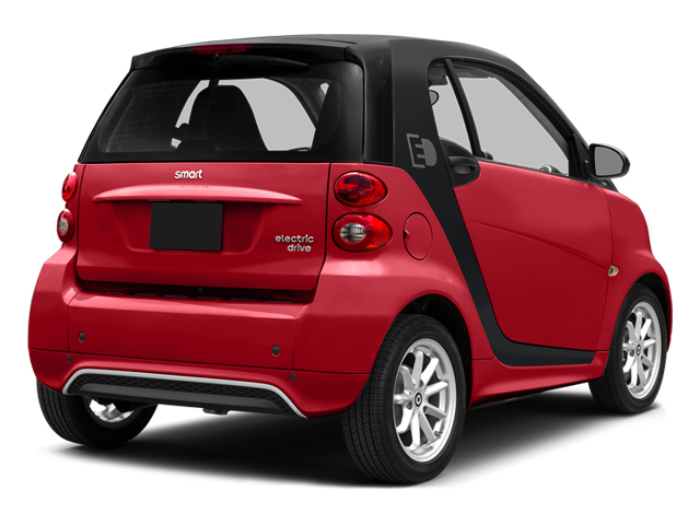 Rally Red 2014 smart fortwo electric drive Pictures fortwo electric drive Coupe 2D Electric photos rear view