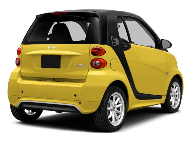Clear Flame Yellow 2014 smart fortwo electric drive Pictures fortwo electric drive Coupe 2D Electric photos rear view
