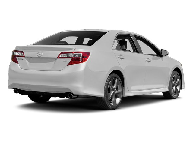Super White 2014 Toyota Camry Pictures Camry Sedan 4D LE I4 photos rear view