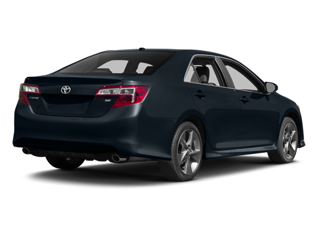 Cosmic Gray Mica 2014 Toyota Camry Pictures Camry Sedan 4D LE I4 photos rear view