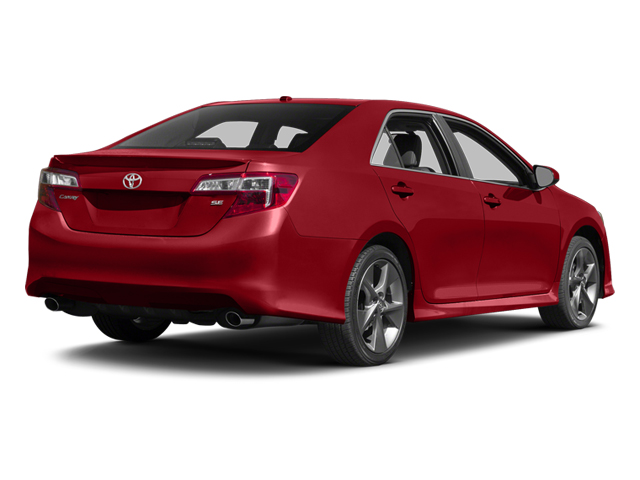 Barcelona Red Metallic 2014 Toyota Camry Pictures Camry Sedan 4D LE I4 photos rear view