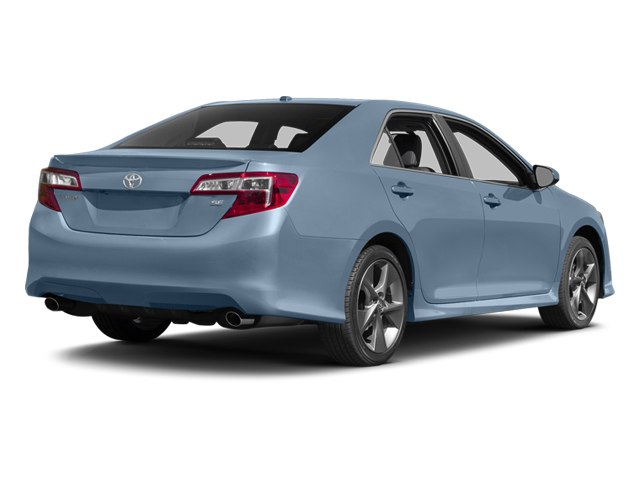 Clearwater Blue Metallic 2014 Toyota Camry Pictures Camry Sedan 4D LE I4 photos rear view
