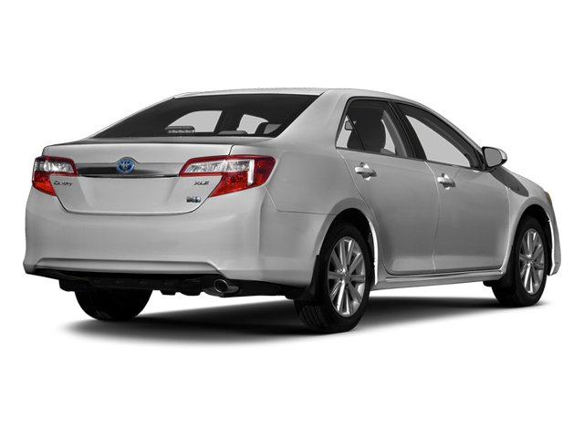 Classic Silver Metallic 2014 Toyota Camry Hybrid Pictures Camry Hybrid Sedan 4D LE I4 Hybrid photos rear view