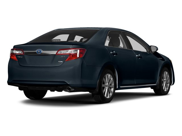 Cosmic Gray Mica 2014 Toyota Camry Hybrid Pictures Camry Hybrid Sedan 4D LE I4 Hybrid photos rear view