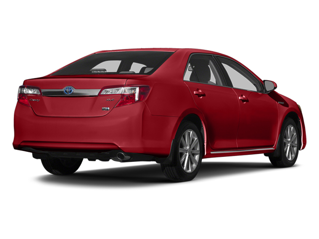 Barcelona Red Metallic 2014 Toyota Camry Hybrid Pictures Camry Hybrid Sedan 4D LE I4 Hybrid photos rear view