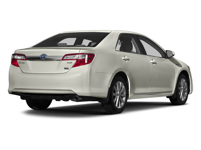 Creme Brulee Mica 2014 Toyota Camry Hybrid Pictures Camry Hybrid Sedan 4D LE I4 Hybrid photos rear view