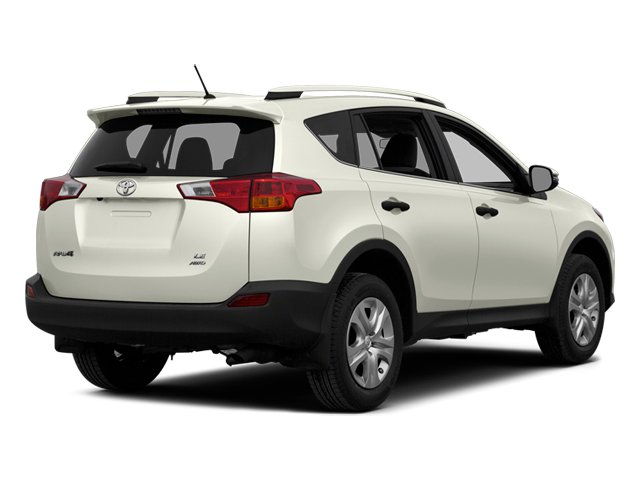 Blizzard Pearl 2014 Toyota RAV4 Pictures RAV4 Utility 4D Limited 4WD I4 photos rear view