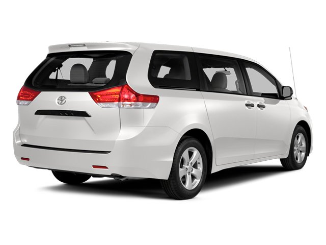 Super White 2014 Toyota Sienna Pictures Sienna Wagon 5D LE AWD V6 photos rear view