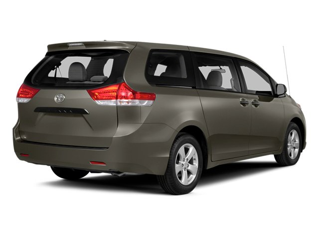 Predawn Gray Mica 2014 Toyota Sienna Pictures Sienna Wagon 5D LE AWD V6 photos rear view