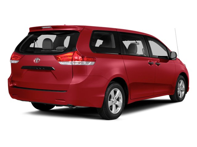 Salsa Red Pearl 2014 Toyota Sienna Pictures Sienna Wagon 5D LE AWD V6 photos rear view