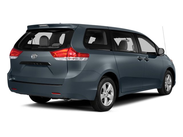 Shoreline Blue Pearl 2014 Toyota Sienna Pictures Sienna Wagon 5D LE AWD V6 photos rear view