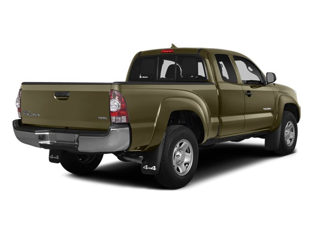 Pyrite Mica 2014 Toyota Tacoma Pictures Tacoma Base Access Cab 2WD I4 photos rear view