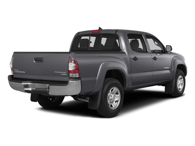 Magnetic Gray Metallic 2014 Toyota Tacoma Pictures Tacoma Base 4WD V6 photos rear view