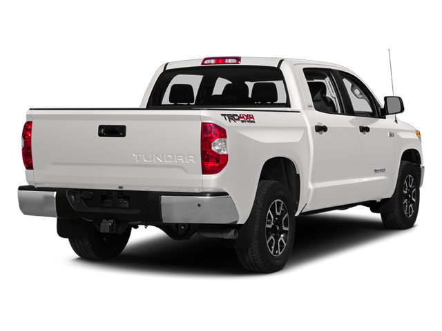 Super White 2014 Toyota Tundra 4WD Truck Pictures Tundra 4WD Truck SR5 4WD 5.7L V8 photos rear view
