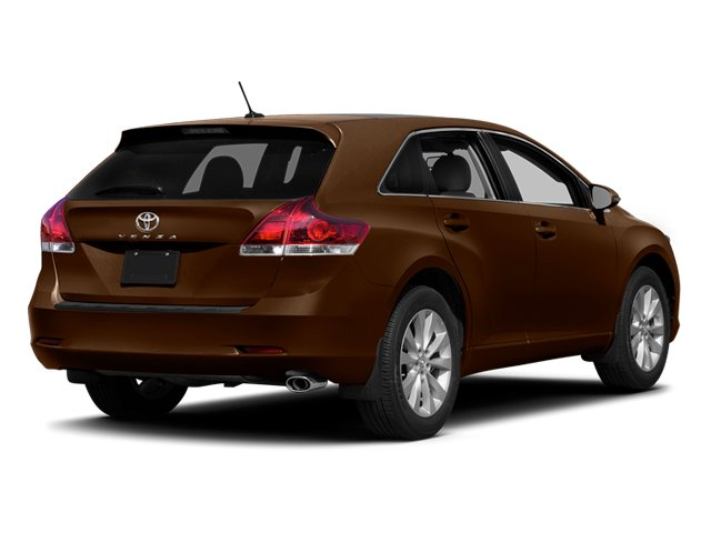 Sunset Bronze Mica 2014 Toyota Venza Pictures Venza Wagon 4D LE 2WD I4 photos rear view
