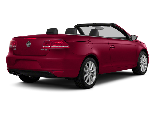 Salsa Red 2014 Volkswagen Eos Pictures Eos Convertible 2D Executive I4 Turbo photos rear view