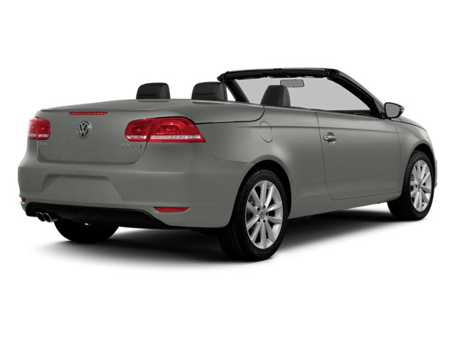 Reflex Silver Metallic 2014 Volkswagen Eos Pictures Eos Convertible 2D Executive I4 Turbo photos rear view