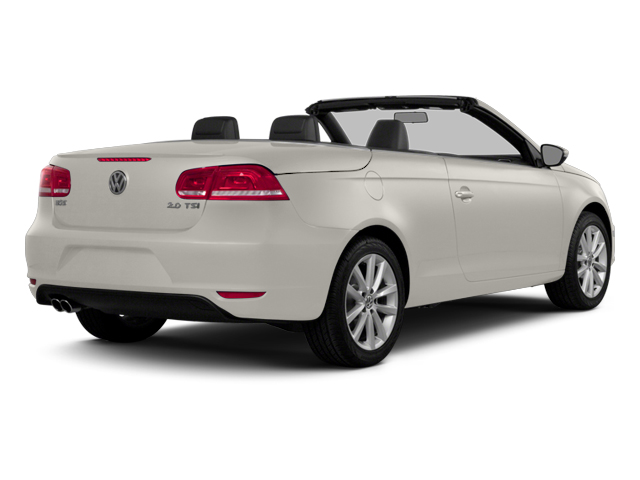 Candy White 2014 Volkswagen Eos Pictures Eos Convertible 2D Executive I4 Turbo photos rear view