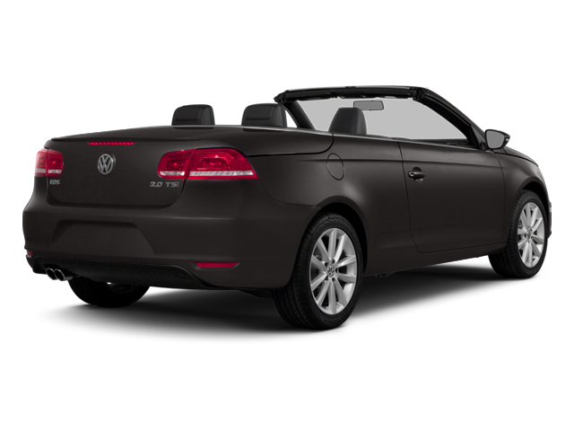 Black Oak Brown Metallic 2014 Volkswagen Eos Pictures Eos Convertible 2D Executive I4 Turbo photos rear view