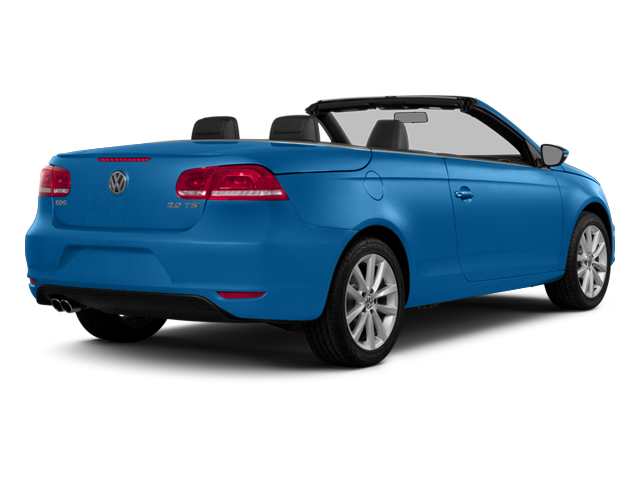 Horizon Blue Metallic 2014 Volkswagen Eos Pictures Eos Convertible 2D Executive I4 Turbo photos rear view