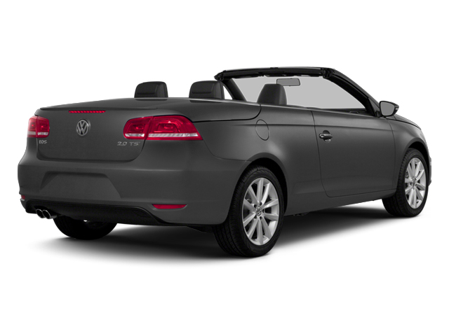 Indium Gray Metallic 2014 Volkswagen Eos Pictures Eos Convertible 2D Executive I4 Turbo photos rear view
