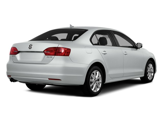 Pure White 2014 Volkswagen Jetta Sedan Pictures Jetta Sedan 4D TDI I4 photos rear view