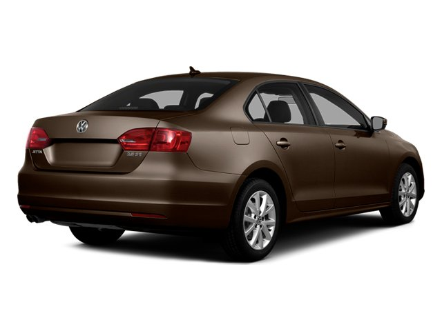 Toffee Brown Metallic 2014 Volkswagen Jetta Sedan Pictures Jetta Sedan 4D TDI I4 photos rear view