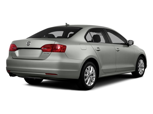 Reflex Silver Metallic 2014 Volkswagen Jetta Sedan Pictures Jetta Sedan 4D TDI I4 photos rear view