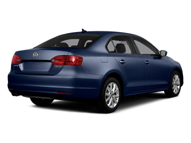 Tempest Blue Metallic 2014 Volkswagen Jetta Sedan Pictures Jetta Sedan 4D TDI I4 photos rear view
