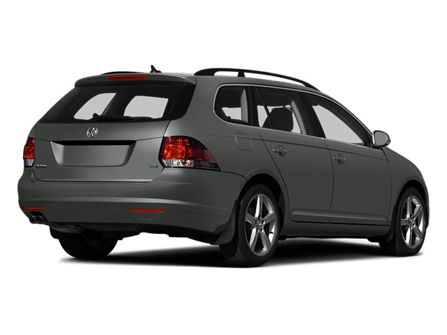 Platinum Gray Metallic 2014 Volkswagen Jetta SportWagen Pictures Jetta SportWagen Wagon 4D SE I5 photos rear view